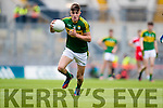 Sean O'Shea Kerry in action against Derry in the All Ireland Minor Quarter Final at Croke Park on Sunday.