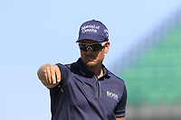 Henrik Stenson (SWE) checks the wind direction at the 17th tee during Thursday's Round 1 of the 118th U.S. Open Championship 2018, held at Shinnecock Hills Club, Southampton, New Jersey, USA. 14th June 2018.<br /> Picture: Eoin Clarke | Golffile<br /> <br /> <br /> All photos usage must carry mandatory copyright credit (&copy; Golffile | Eoin Clarke)