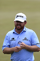 J.B. Holmes (USA) walks to the 1st tee to start his match during Sunday's Final Round of the 117th U.S. Open Championship 2017 held at Erin Hills, Erin, Wisconsin, USA. 18th June 2017.<br /> Picture: Eoin Clarke | Golffile<br /> <br /> <br /> All photos usage must carry mandatory copyright credit (&copy; Golffile | Eoin Clarke)