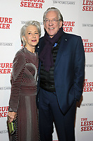 NEW YORK, NY - JANUARY 11:  Helen Mirren and Donald Sutherland at The Leisure Seeker New York Screening at AMC Loews Lincoln Square in New York City on January 11, 2018. <br /> CAP/MPI/JP<br /> &copy;JP/MPI/Capital Pictures