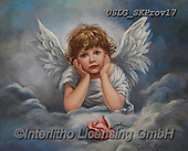 CHILDREN, KINDER, NIÑOS, paintings+++++,USLGSKPROV17,#K#, EVERYDAY ,Sandra Kock, victorian ,angels