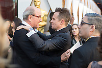 Oscar&reg; nominees Richard Jenkins and Sam Rockwell arrive on the red carpet of The 90th Oscars&reg; at the Dolby&reg; Theatre in Hollywood, CA on Sunday, March 4, 2018.<br /> *Editorial Use Only*<br /> CAP/PLF/AMPAS<br /> Supplied by Capital Pictures