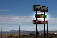 Gas dips below $2.00 at a Larmie, Wyoming gas station.