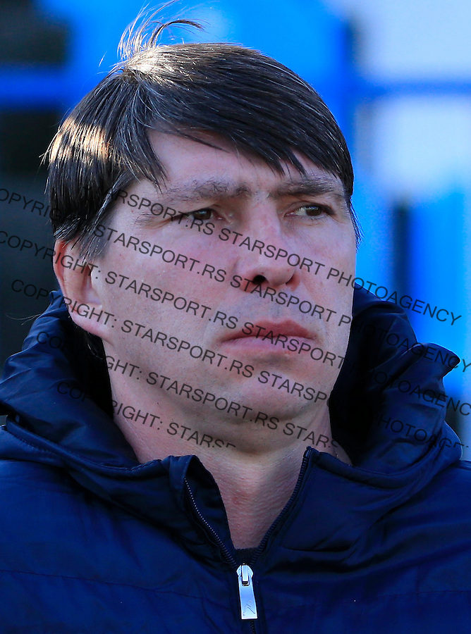 Fudbal Jelen Super League season 2015-2016<br /> Spartak v Partizan<br /> Head coach Andrei Chernyshov (Andrej Cernisov)<br /> Subotica, 29.11.2015.<br /> foto: Srdjan Stevanovic/Starsportphoto&copy;