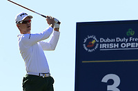 Brandon Stone (RSA) tees off the 3rd tee during Friday's Round 2 of the 2018 Dubai Duty Free Irish Open, held at Ballyliffin Golf Club, Ireland. 6th July 2018.<br /> Picture: Eoin Clarke | Golffile<br /> <br /> <br /> All photos usage must carry mandatory copyright credit (&copy; Golffile | Eoin Clarke)
