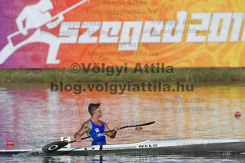 2011 ICF World Canoe Sprint Championships held in Szeged, Hungary. Thursday, 18. August 2011. ATTILA VOLGYI