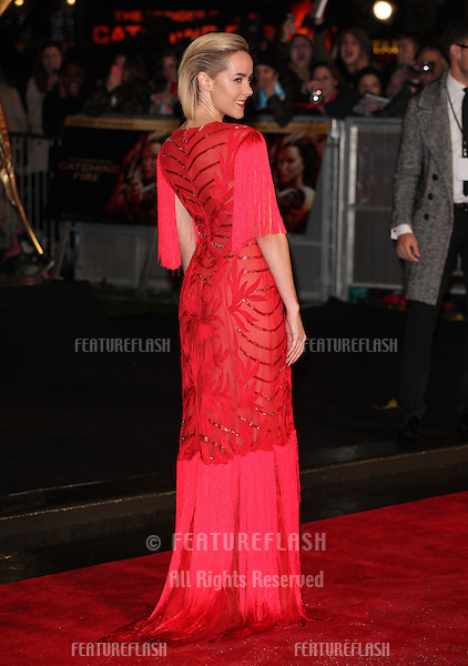 Jena Malone arriving for The Hunger Games, Catching Fire World Premiere, London Leicester Square. 11/11/2013 Picture by: Alexandra Glen / Featureflash
