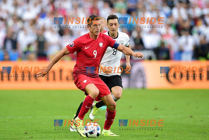 Robert Lewandowski (Pol) <br /> Paris 16-06-2016 Stade de France Football Euro2016 Germany - Poland / Germania - Polonia Group Stage Group C. Foto JB Autissier / Panoramic / Insidefoto