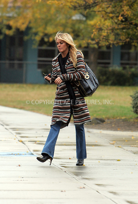WWW.ACEPIXS.COM . . . . . ....November 20 2007, New York City....***EXCLUSIVE TO ACE PICTURES - PLEASE PHONE BEFORE USAGE***....Lindsay Lohan's mother Dina Lohan took daughter Ali to school in their Long Island neighborhood, before paying a visit to the bank and Dunkin Donuts. At Dunkin Donuts the ever gracious and delightful Dina bought two cups of coffee for our photographers!....Please byline: DAVID MURPHY - ACEPIXS.COM.. . . . . . ..Ace Pictures, Inc:  ..(646) 769 0430..e-mail: info@acepixs.com..web: http://www.acepixs.com