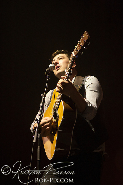 Mumford and Sons perform at Providence Performing Arts Center, Providence, Rhode Island, August 6, 2012