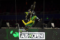 FMX / Cameron Sinclair<br /> Monster Energy Aus-XOpen<br /> Supercross &amp; FMX International<br /> Qudos Bank Arena, Olympic Park NSW<br /> Sydney AUS Sunday 12  November 2017. <br /> &copy; Sport the library / Jeff Crow