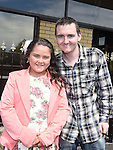 Hannah Smith who was confirmed in Holy Family Church Ballsgrove pictured with sponsor and brother Andrew. Photo:Colin Bell/pressphotos.ie