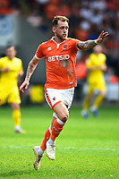 Blackpool's Harry Pritchard in action<br /> <br /> Photographer Richard Martin-Roberts/CameraSport<br /> <br /> The EFL Sky Bet League One - Blackpool v Fleetwood Town - Monday 22nd April 2019 - Bloomfield Road - Blackpool<br /> <br /> World Copyright © 2019 CameraSport. All rights reserved. 43 Linden Ave. Countesthorpe. Leicester. England. LE8 5PG - Tel: +44 (0) 116 277 4147 - admin@camerasport.com - www.camerasport.com