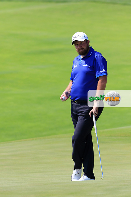 Shane LOWRY (IRL) on the 6th green during Friday's Round 2 of the 97th US PGA Championship 2015 held at Whistling Straits, Mosel, Kohler, Wisconsin, United States of America. 14/08/2015.<br /> Picture Eoin Clarke, www.golffile.ie
