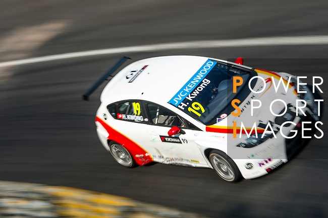 Henry Kwong races the FIA WTCC during the 61st Macau Grand Prix on November 16, 2014 at Macau street circuit in Macau, China. Photo by Aitor Alcalde / Power Sport Images