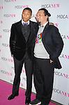 LOS ANGELES, CA. - November 14: Musician Pharrell Williams (L) and artist Takashi Murakami arrive at the MOCA NEW 30th anniversary gala held at MOCA on November 14, 2009 in Los Angeles, California.