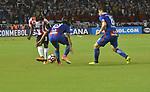 Junior venció como local 3-1 a Cerro Porteño (3-1 en el global). Octavos de final Conmebol Sudamericana 2017.