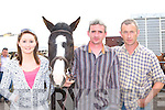 Kelly Griffin Ardfert, Billy Fleming Killorglin and Kevin Griffin Ardfert doing some wheeling and dealing at the horse fair in Killorglin on Saturday..   Copyright Kerry's Eye 2008