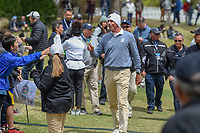 Matt Kuchar (USA) talks to fans as he departs 18 during day 5 of the WGC Dell Match Play, at the Austin Country Club, Austin, Texas, USA. 3/31/2019.<br /> Picture: Golffile | Ken Murray<br /> <br /> <br /> All photo usage must carry mandatory copyright credit (&copy; Golffile | Ken Murray)