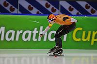 SCHAATSEN: HEERENVEEN: 16-01-2016 IJsstadion Thialf, Trainingswedstrijd Topsport, Malissa Wijfje, ©foto Martin de Jong