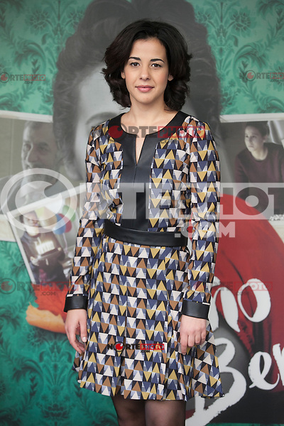 Actress Naiara Carmona poses during `Un otono sin Berlin´ film presentation in Madrid, Spain. November 10, 2015. (ALTERPHOTOS/Victor Blanco)