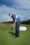 American Matt Kuchar at Craigielaw Golf Club where he spoke to the media about his novel and innovative putting style.<br /> Pic Kenny Smith, Kenny Smith Photography<br /> 6 Bluebell Grove, Kelty, Fife, KY4 0GX <br /> Tel 07809 450119,