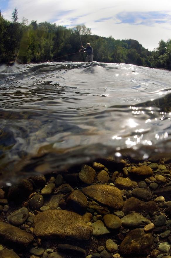 River Orkla, Rennebu, Norway