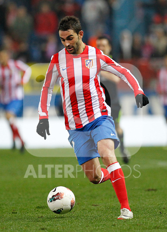 Madrid 21/03/2012.- Estadio Vicente Calderon..Liga BBVA..Atco.Madrid - Athletic Club.Adrian...©Alex Cid-Fuentes/ALFAQUI FOTOGRAFIA.........