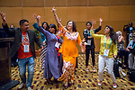 27 June, 2018, Kuala Lumpur, Malaysia : Participants dancing to the band during the closing ceremony at the third day at the Girls Not Brides Global Meeting 2018 at the Kuala Lumpur Convention Centre. Picture by Graham Crouch/Girls Not Brides