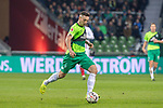 10.02.2019, Weser Stadion, Bremen, GER, 1.FBL, Werder Bremen vs FC Augsburg, <br /> <br /> DFL REGULATIONS PROHIBIT ANY USE OF PHOTOGRAPHS AS IMAGE SEQUENCES AND/OR QUASI-VIDEO.<br /> <br />  im Bild<br /> Kevin Möhwald / Moehwald (Werder Bremen #06)<br /> <br /> <br /> Foto © nordphoto / Kokenge