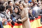 Princess Letizia of Spain visits Alcaniz village on November 7, 2012 in Alcaniz, Teruel, Spain. (ALTERPHOTOS/Acero)