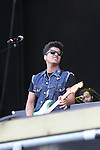 Bruno Mars plays the Vodafone Stage on Day 2 of the Oxegen Festival, Punchestown, Co.Kildare...(Photo credit should read Jenny Matthews www.newsfile.ie)....This Picture has been sent you under the conditions enclosed by:.Newsfile Ltd..The Studio,.Millmount Abbey,.Drogheda,.Co Meath..Ireland..Tel: +353(0)41-9871240.Fax: +353(0)41-9871260.GSM: +353(0)86-2500958.email: pictures@newsfile.ie.www.newsfile.ie.