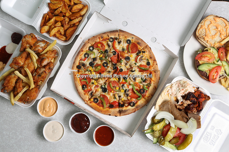 Food photo-shoot for Pizza Venice restaurant, Swansea, Wales, UK. Monday 18 September 2017