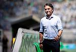 Trainer Bruno Labbadia (Hertha BSC Berlin) angespannt vor dem Spiel.<br /><br />27.06.2020, Fussball, 1. Bundesliga, Saison 2019/20, 34. Spieltag, Borussia Moenchengladbach - Hertha BSC Berlin, <br /><br />Foto: MORITZ MUELLER/POOL/via/Meuter/Nordphoto<br />Only for Editorial use
