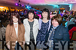 Cathy Harnett, Eileen O'Sullivan, Roseanne O'Sullivan and Mary Reale, pictured at the Kerins O'Rahillys Strictly Come Dancing, held at the Brandon Hotel, Tralee on Saturday night last.