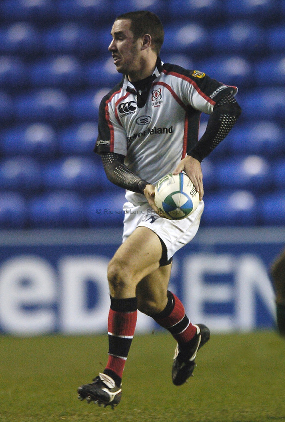 Photo: Jonathan Butler...London Irish v Ulster Rugby. Heineken Cup. 09/12/2006...Paddy Wallace of London Irish.