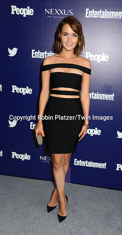 Camilla Luddington attends the Entertainment Weekly &amp; PEOPLE celebrattion of The New York Upfronts at a party on May 11, 2015 at The High Line Hotel in New York, New York, USA.<br /> <br /> photo by Robin Platzer/Twin Images<br />  <br /> phone number 212-935-0770
