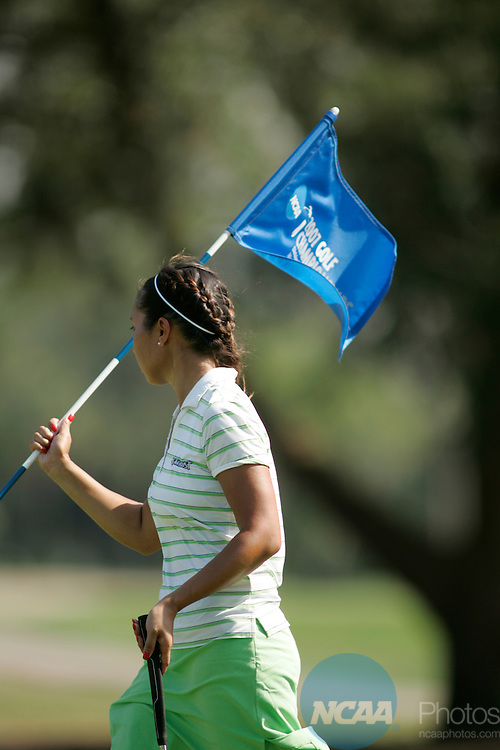 11 MAY 2007: Golfer Charlotte Williams of Methodist University during the final round of the Division III Women's Golf Championship held at El Campeon Golf Course at the Mission Inn Resort & Club in Howey-in-the-Hills, FL. Methodist University won its tenth consecutive championship.  Chris Livingston/NCAA Photos