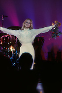 December 9th, 10th &11th, 1982. Las Vegas, USA. After her triumph at the M.G.M Hotel, the french singer Sylvie Vartan became a success with six performances, conquering America.