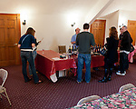 On the weekend we visited, Horton Vineyards had set up a second tasting bar serving their reds in the second-level loft.