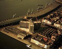 Maart 1973. Het eilandje in Antwerpen.