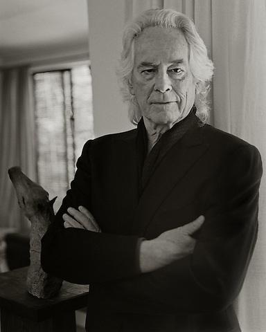 Michael McClure, 2010.  Poet.