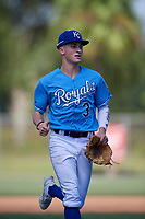 Sammy Siani during the WWBA World Championship at the Roger Dean Complex on October 19, 2018 in Jupiter, Florida.  Sammy Siani is an outfielder from Glenside, Pennsylvania who attends William Penn Charter High School and is committed to Duke.  (Mike Janes/Four Seam Images)