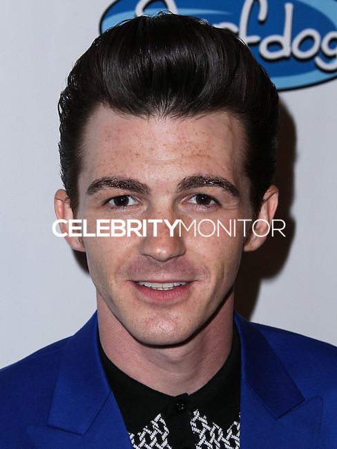 """LOS ANGELES, CA, USA - APRIL 17: Drake Bell arrives at the Drake Bell """"Ready Steady Go!"""" Album Release Party held at Mixology101 & Planet Dailies on April 17, 2014 in Los Angeles, California, United States. (Photo by Xavier Collin/Celebrity Monitor)"""