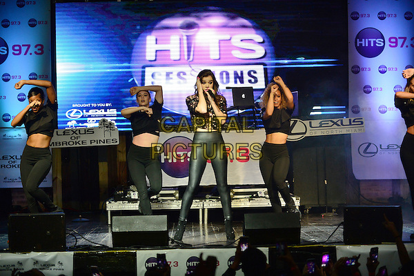 FORT LAUDERDALE, FL - SEPTEMBER 15: Hailee Steinfeld performs onstage during the Hits 97.3 Sessions at Revolution Live on September 15, 2016 in Fort Lauderdale, Florida. <br /> CAP/MPI10<br /> &copy;MPI10/Capital Pictures