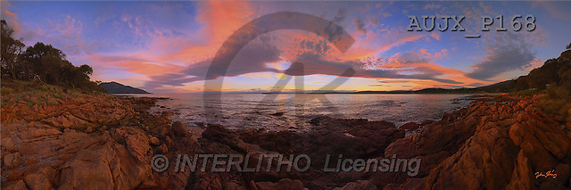 Dr. Xiong, LANDSCAPES, panoramic, photos, Coles Bay, Australia(AUJXP168,#L#)