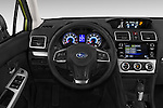Car pictures of steering wheel view of a 2015 Subaru XV Crosstrek Hybrid 5 Door SUV Steering Wheel
