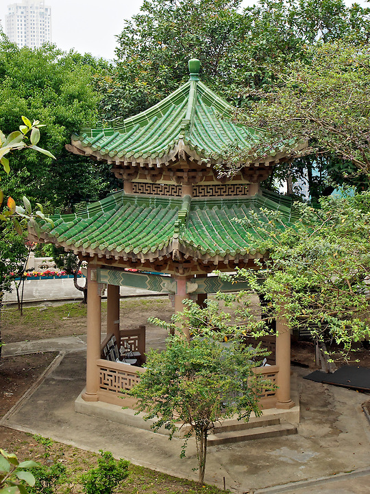 Pagoda Within The Grounds.