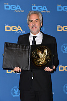 LOS ANGELES, CA. February 03, 2019: Alfonso Cuaron at the 71st Annual Directors Guild of America Awards at the Ray Dolby Ballroom.<br /> Picture: Paul Smith/Featureflash