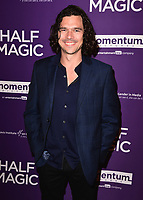 """WEST HOLLYWOOD - FEBRUARY 21:  Luke Arnold at Los Angeles screening of """"Half Magic"""" at The London West Hollywood on February 21, 2018 in West Hollywood, California.(Photo by Scott Kirkland/PictureGroup)"""